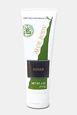 Aloe Body Toner: Feuchtigkeitscreme